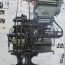 "Linotype, Agnes Street, 48"" x 36"",acrylic on wood cradle"